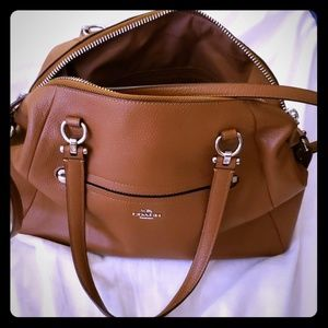 Coach Satchel Bag - Brown Pre-owned excellent cond